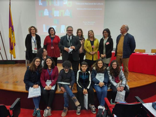 Prova para 14.ª Concurso Nacional de Leitura realizou-se na Biblioteca Municipal